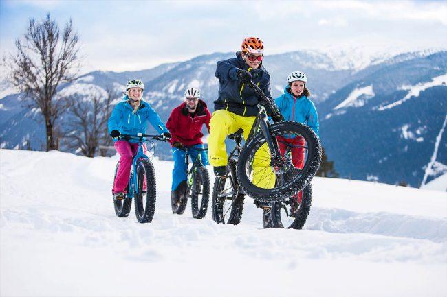 Spaß im Schnee - Winterurlaub - Appartements Atempause