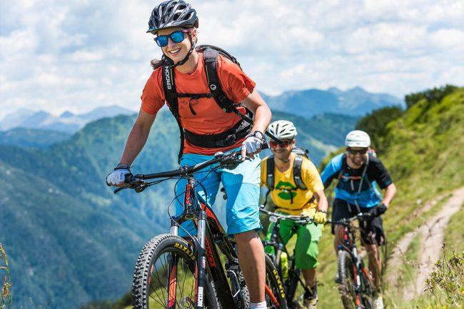 Radfahren im Sommerurlaub in Flachau - Appartements Atempause
