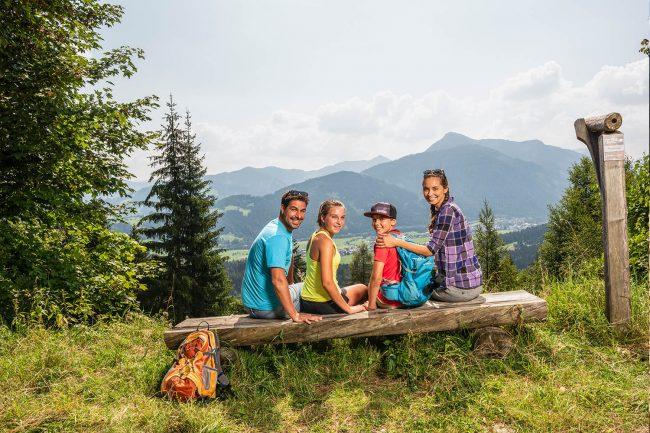 Sommerurlaub in Flachau - Appartements Atempause