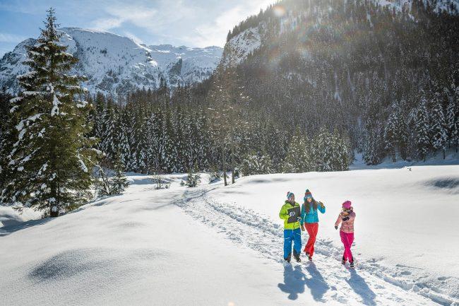 Wandern im Winterurlaub Flachau - Appartements Atempause